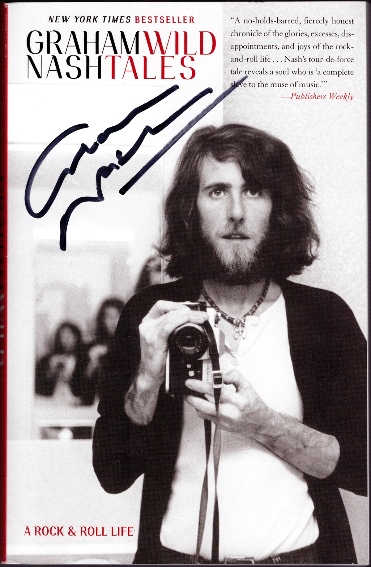 Book - Graham Nash - Wild Tales