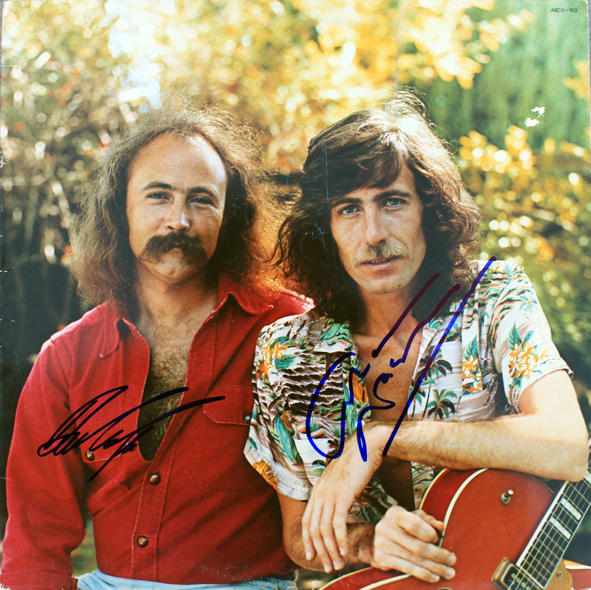 Photo - David Crosby and Graham Nash