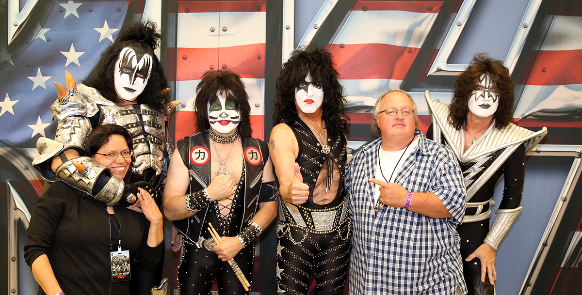 KISS and Stephen Duncan Photo #2