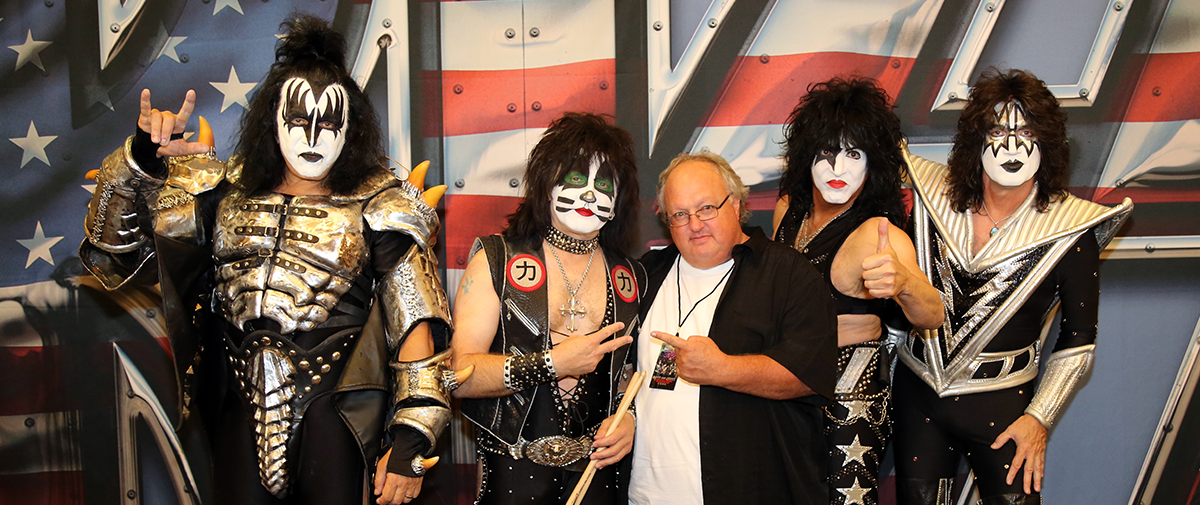 KISS and Stephen Duncan Photo #1