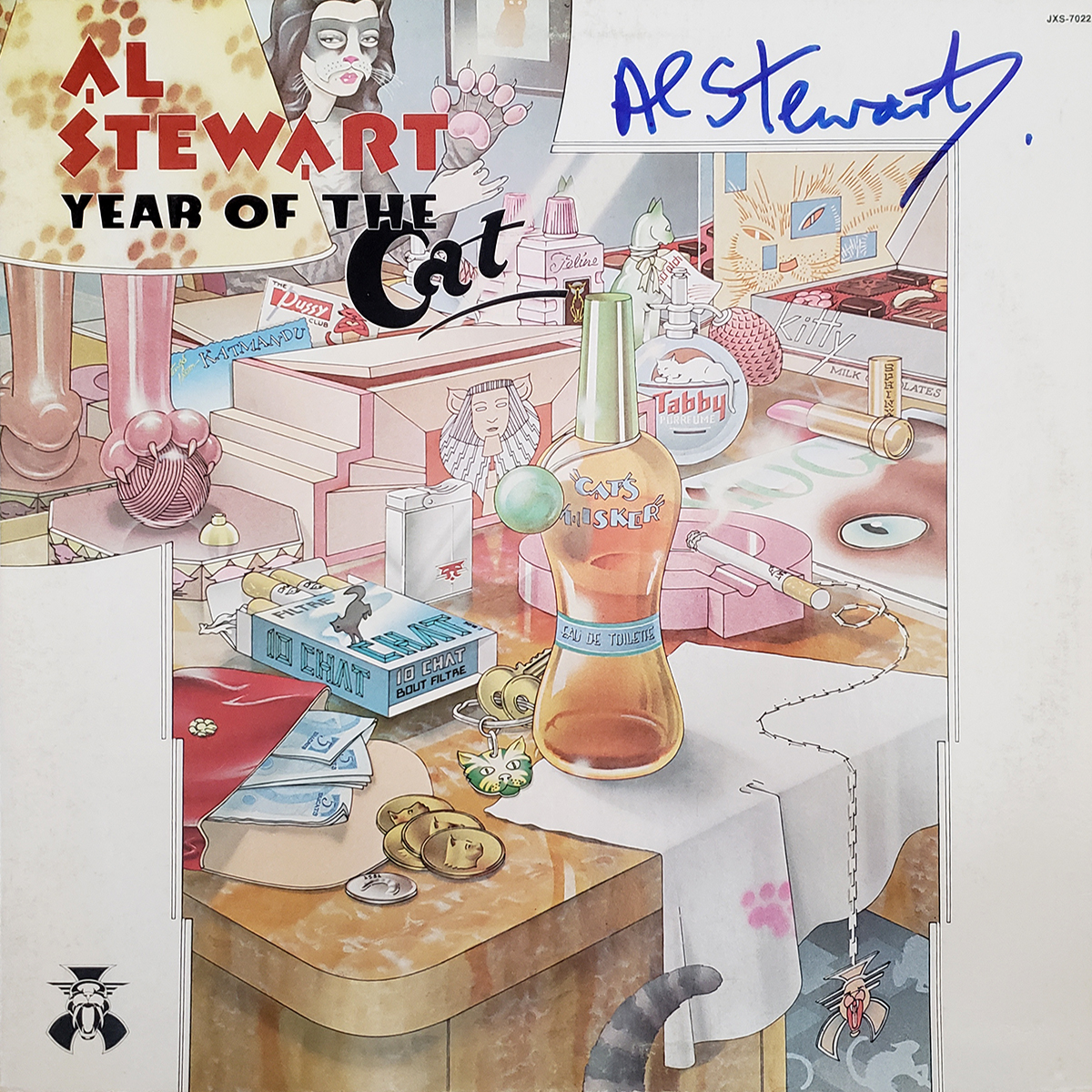 LP - Al Stewart - Year of the Cat