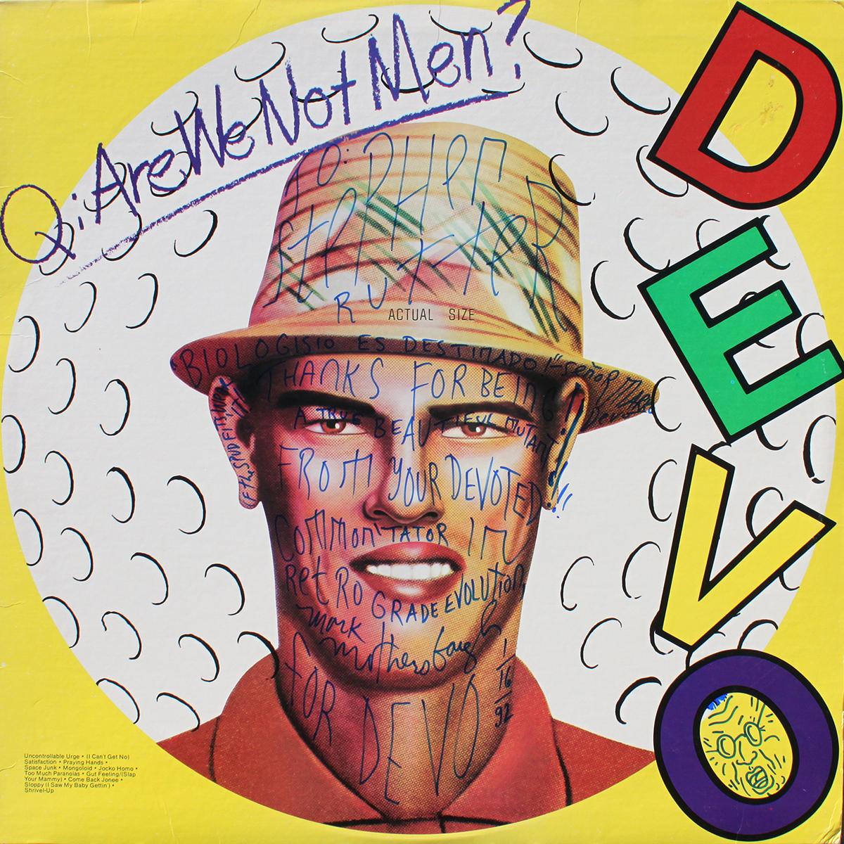 Devo LP - Are We Not Men?