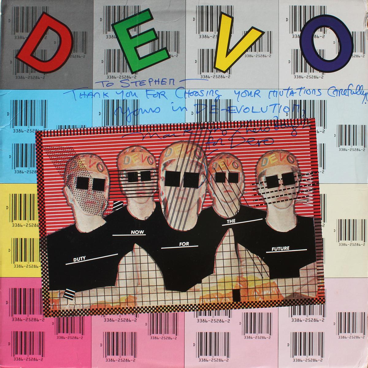 Devo LP - Duty Now For the Future