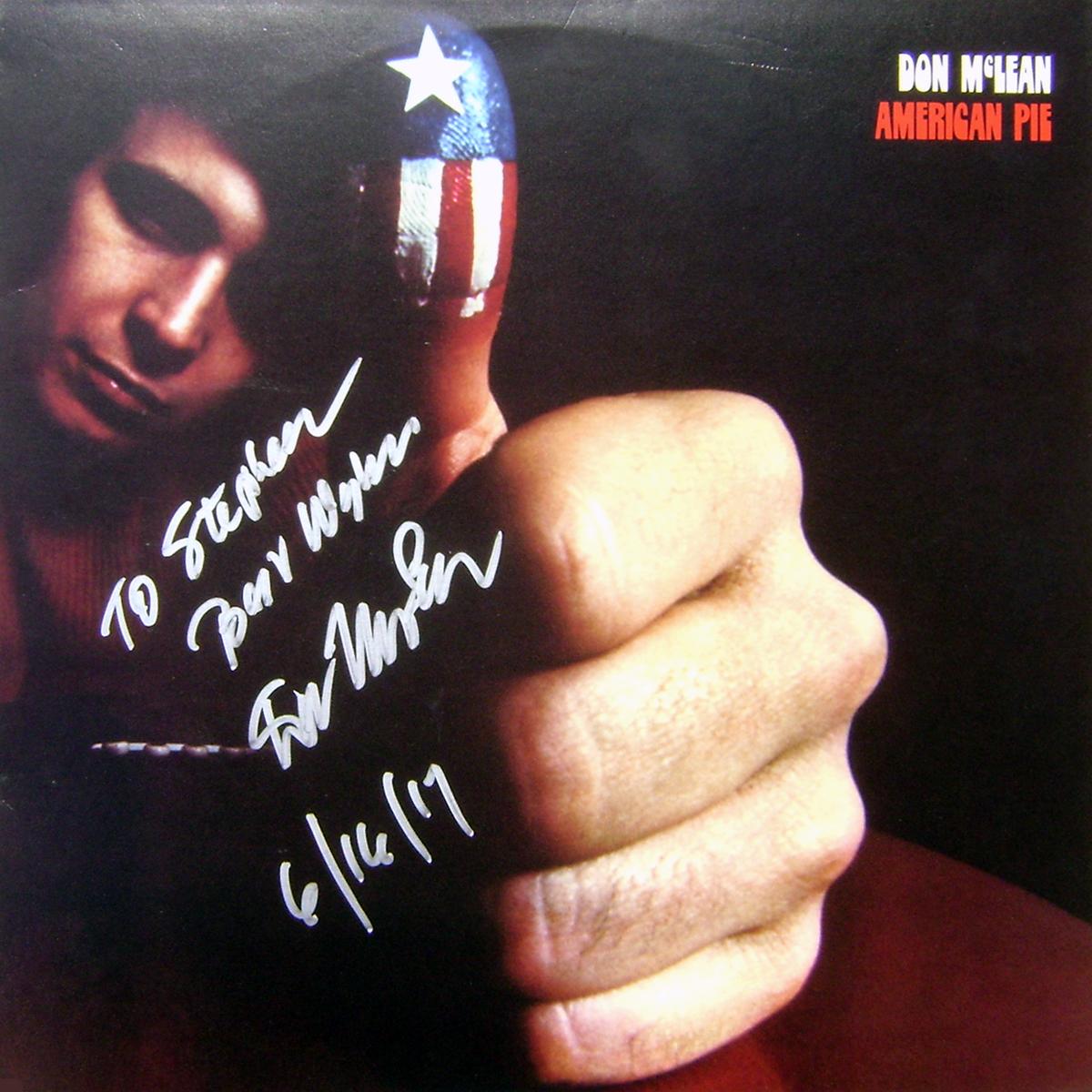 LP - Don McLean - American Pie