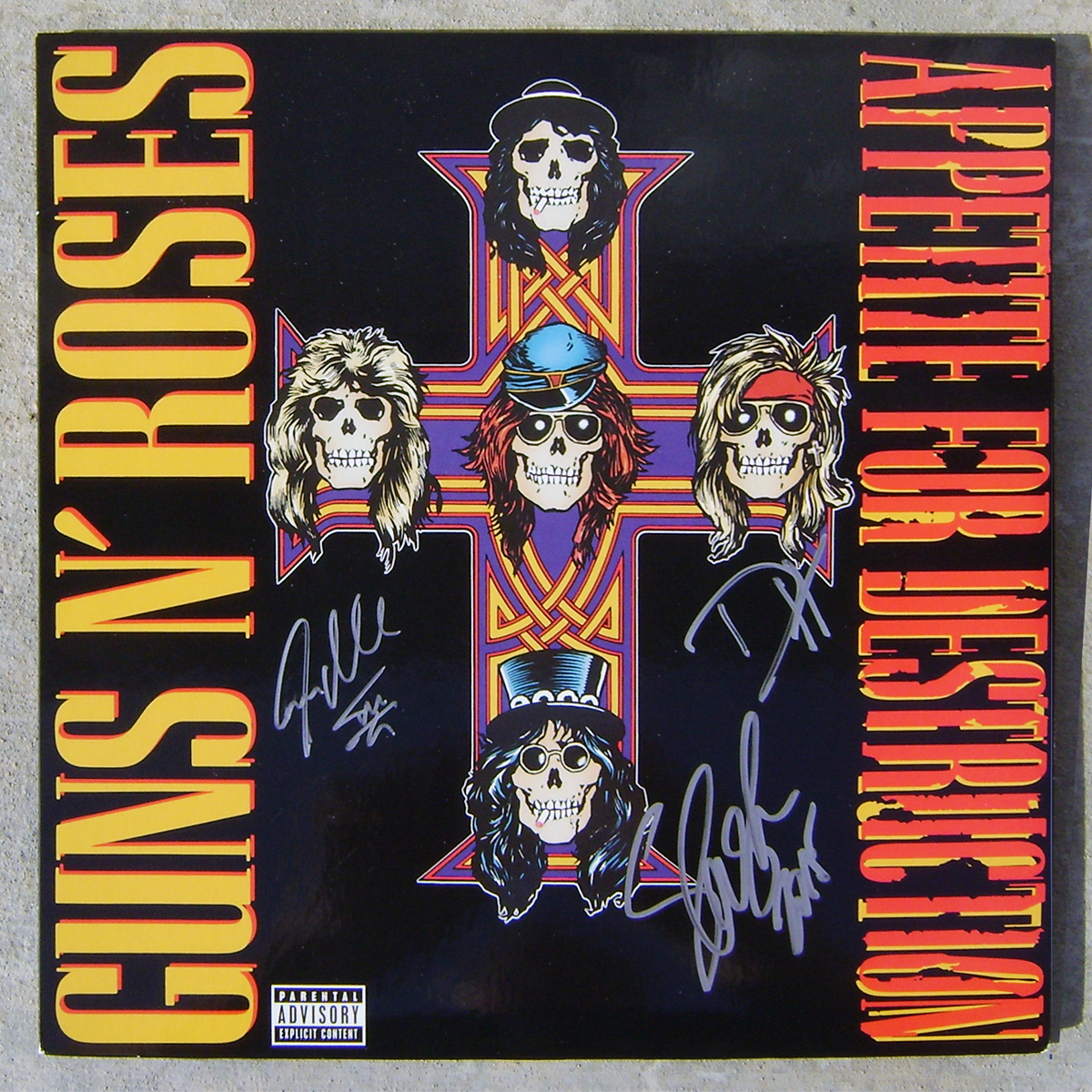 LP - Guns n' Roses - Appetite for Destruction