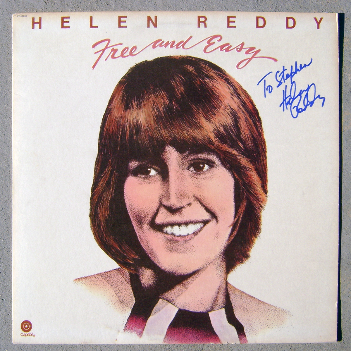 LP - Helen Reddy - Free and Easy