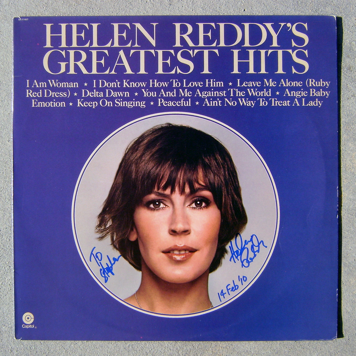 LP - Helen Reddy's Greatest Hits