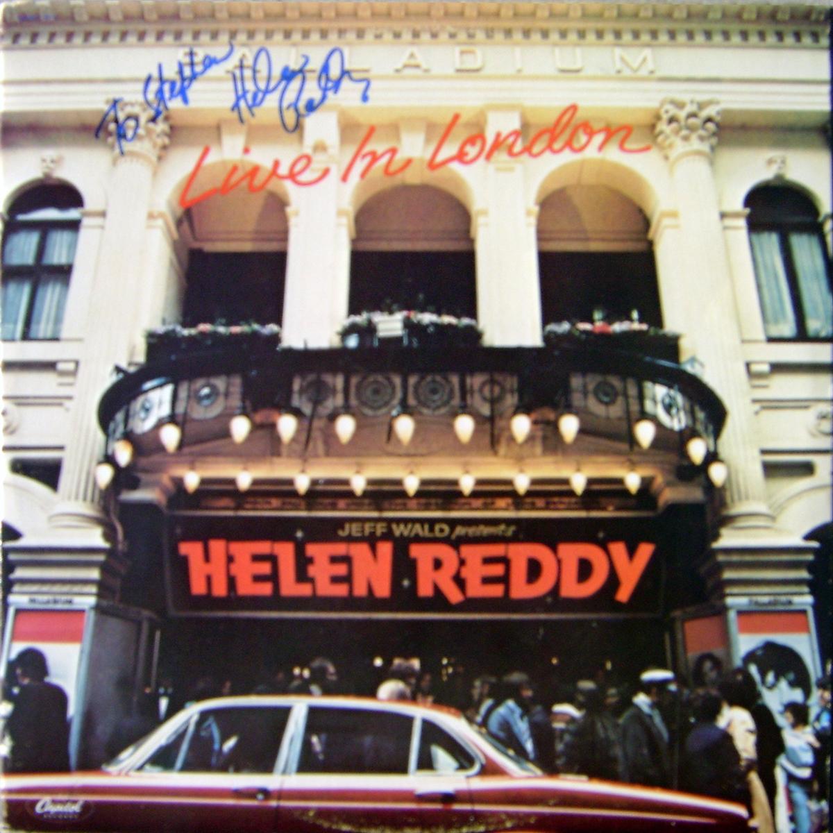 LP - Helen Reddy - Live In London