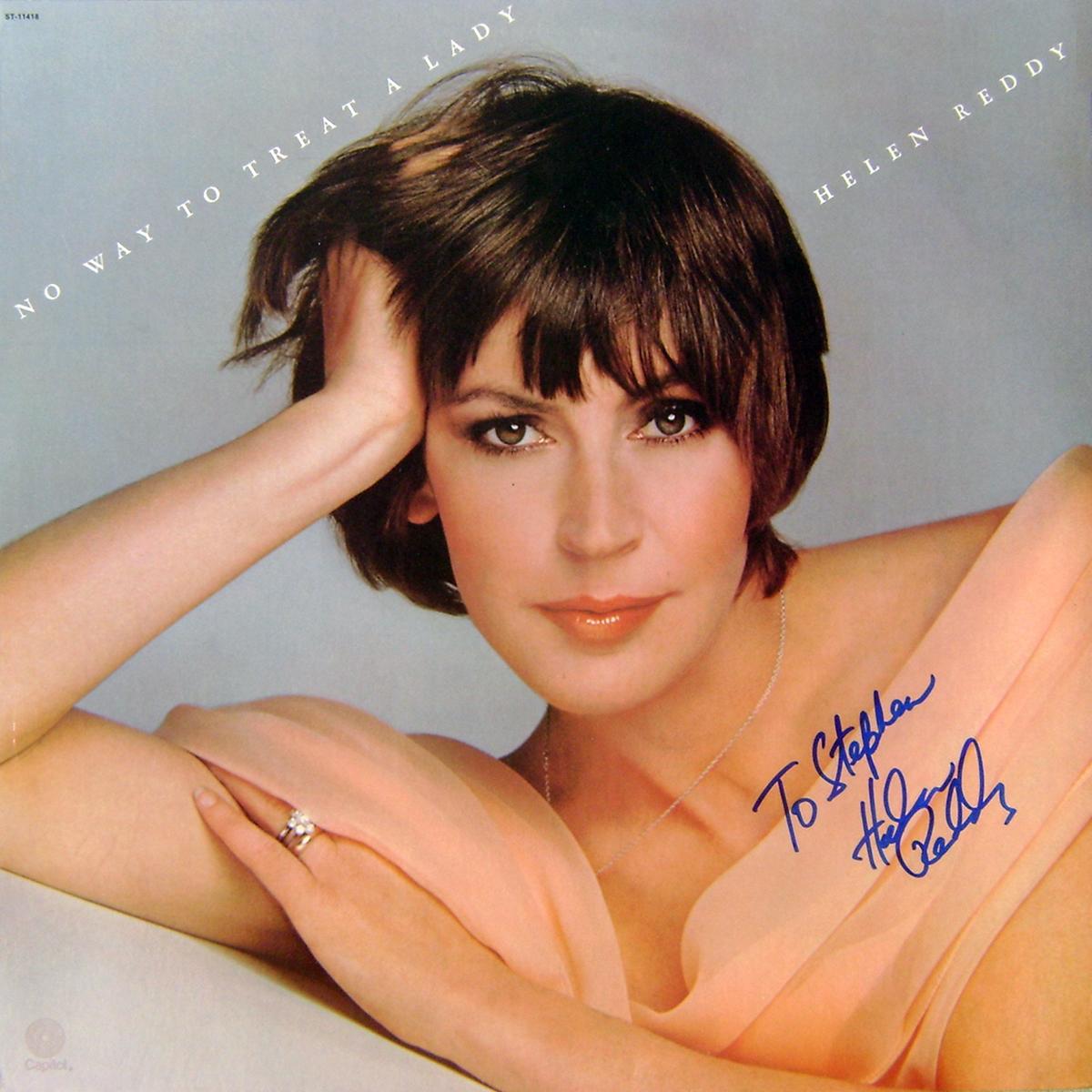 LP - Helen Reddy - No Way To Treat A Lady