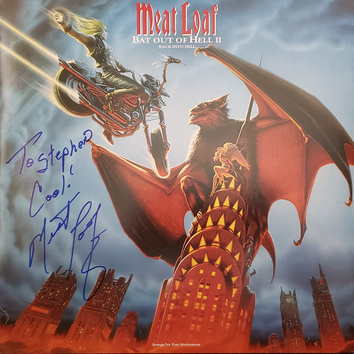 LP - Meat Loaf - Bat Out of Hell 2