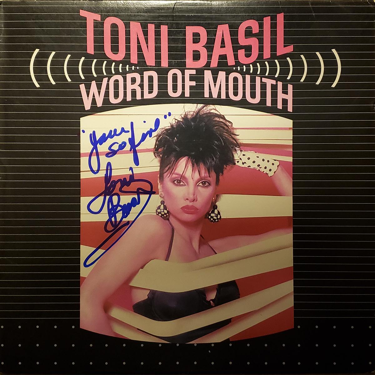LP - Toni Basil - Word of Mouth