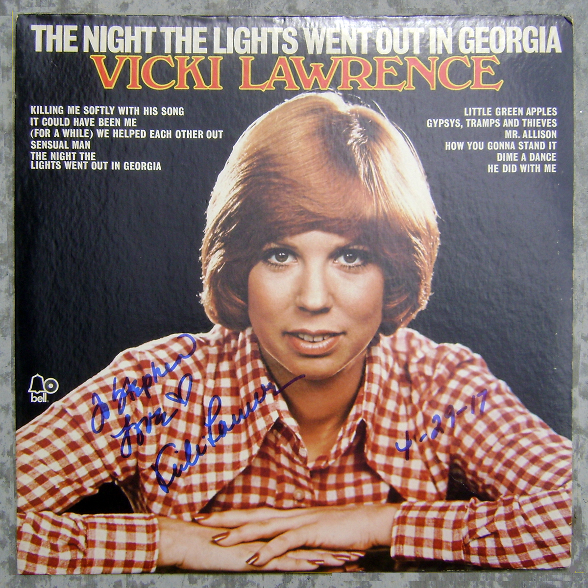 LP - Vicki Lawrence - The Night the Lights Went Out in Georgia #1