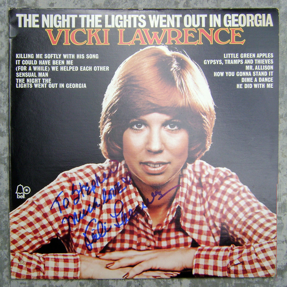 LP - Vicki Lawrence - The Night the Lights Went Out in Georgia #2