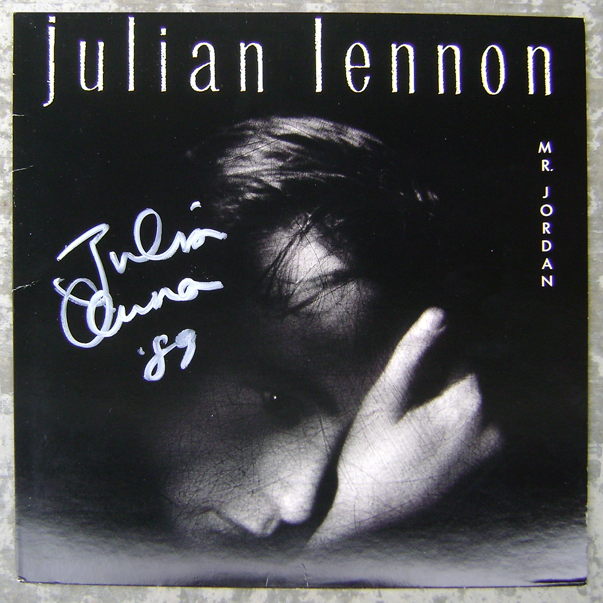 LP - Julian Lennon - Mr. Jordan