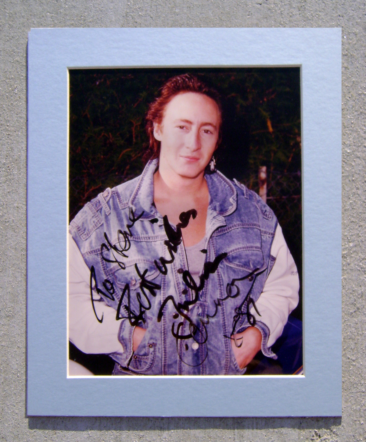 Photo - Matte - Julian Lennon