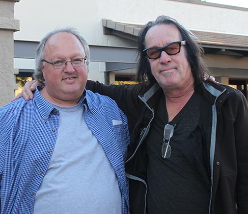 Stephen Duncan and Todd Rundgren