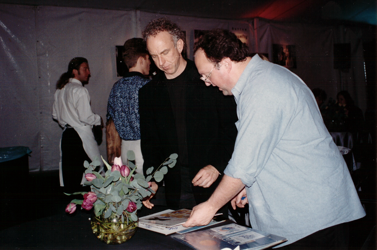 Bernie Leadon and Stephen Duncan
