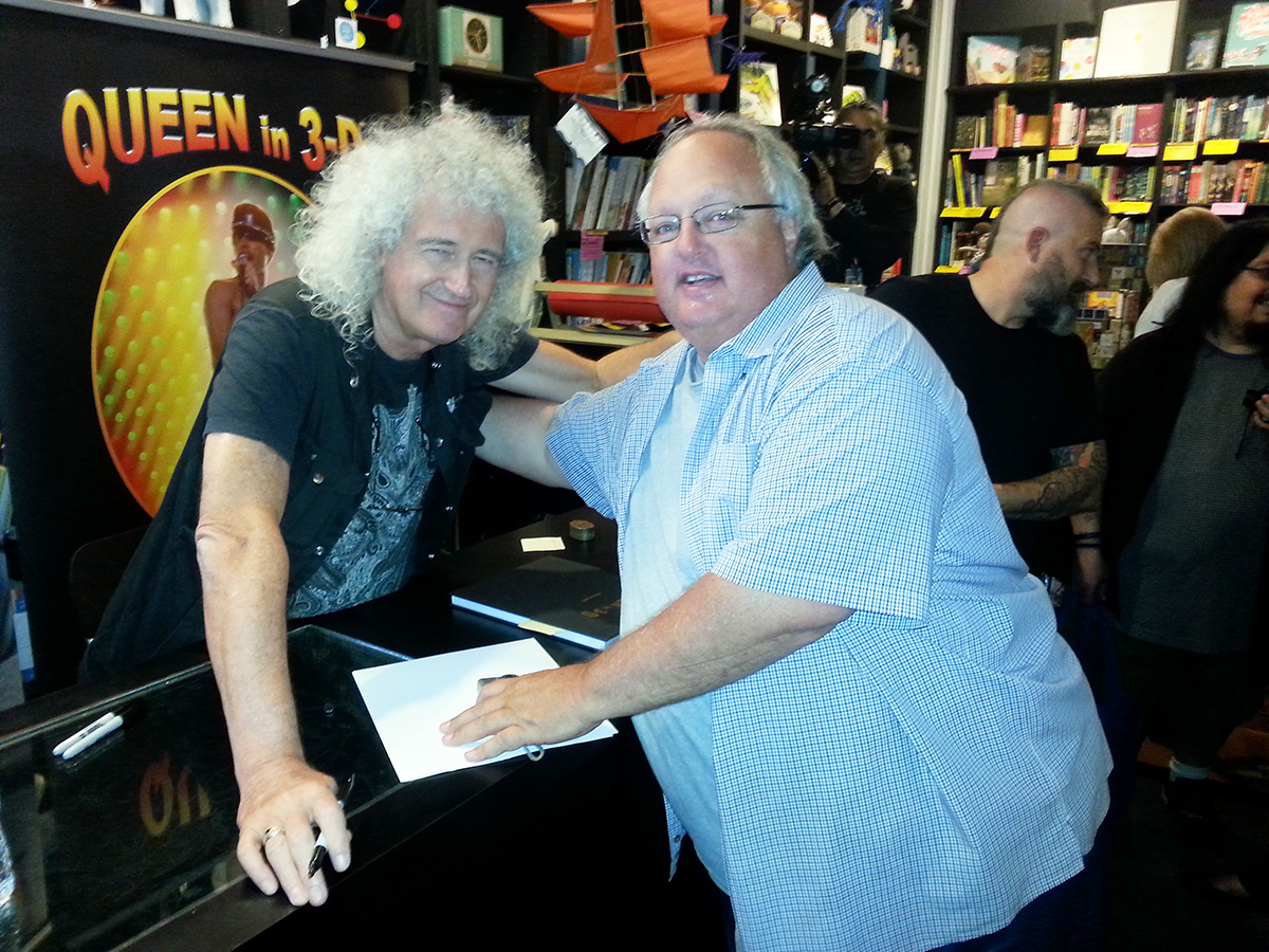 Brian May and Stephen Duncan