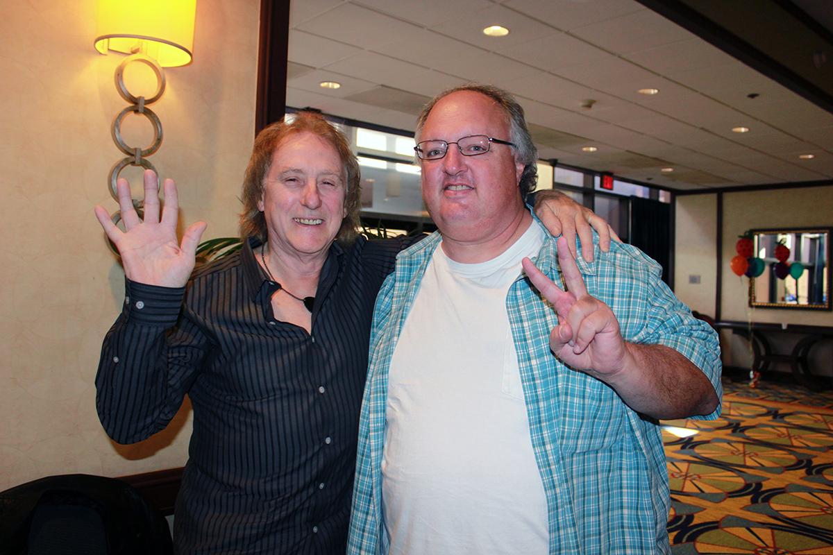 Denny Laine and Stephen Duncan