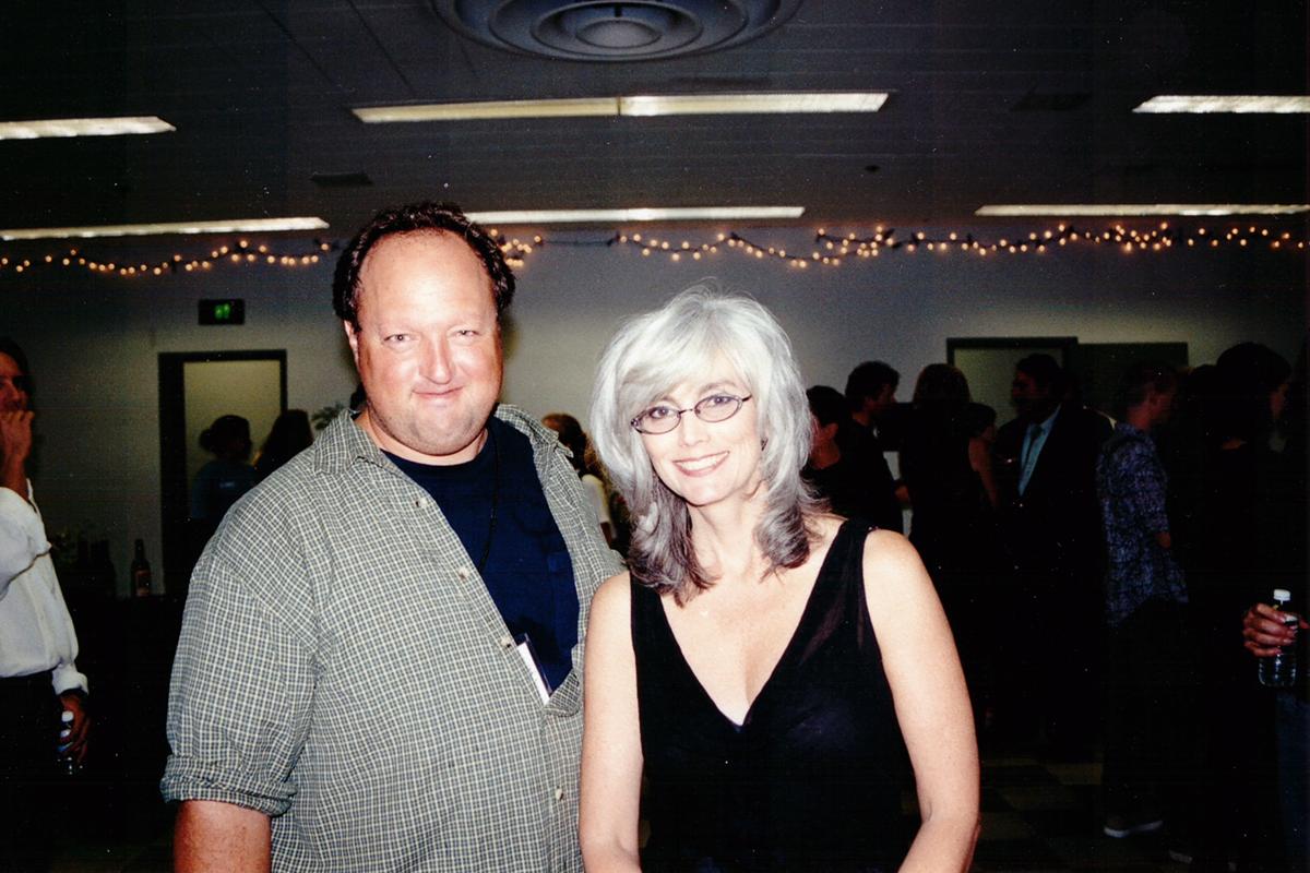Stephen Duncan and Emmylou Harris