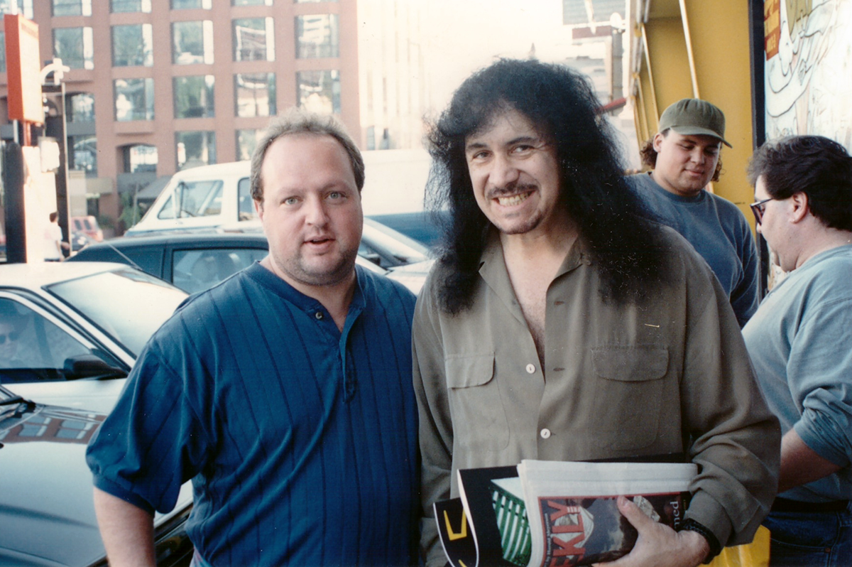 Stephen Duncan and Gene Simmons