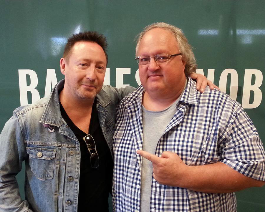 Photo - Julian Lennon and Stephen Duncan