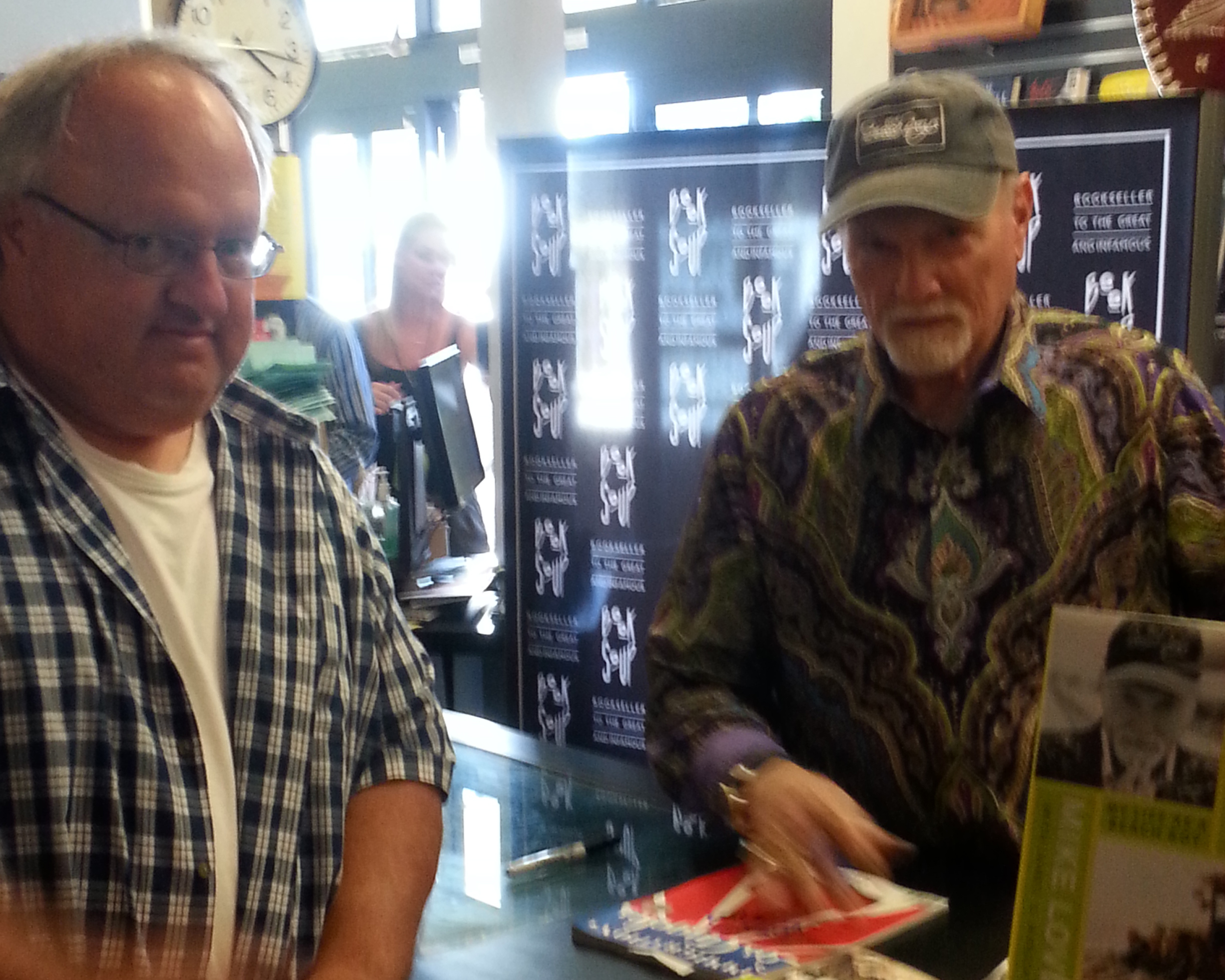 Photo - Stephen Duncan and Mike Love