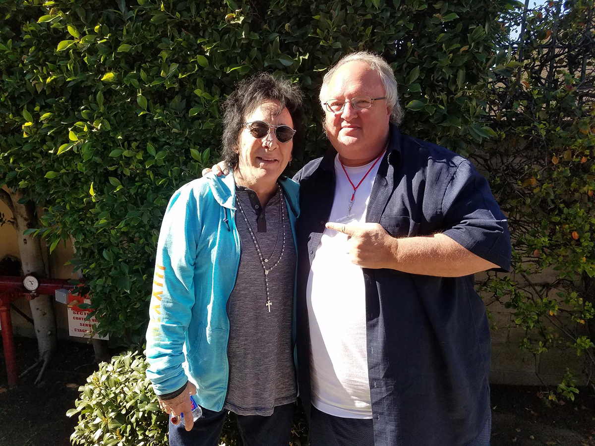 Peter Criss and Stephen Duncan