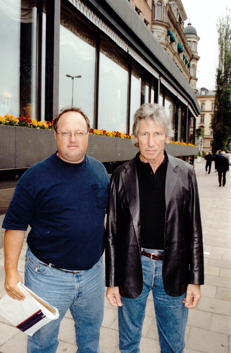 Stephen Duncan and Roger Waters