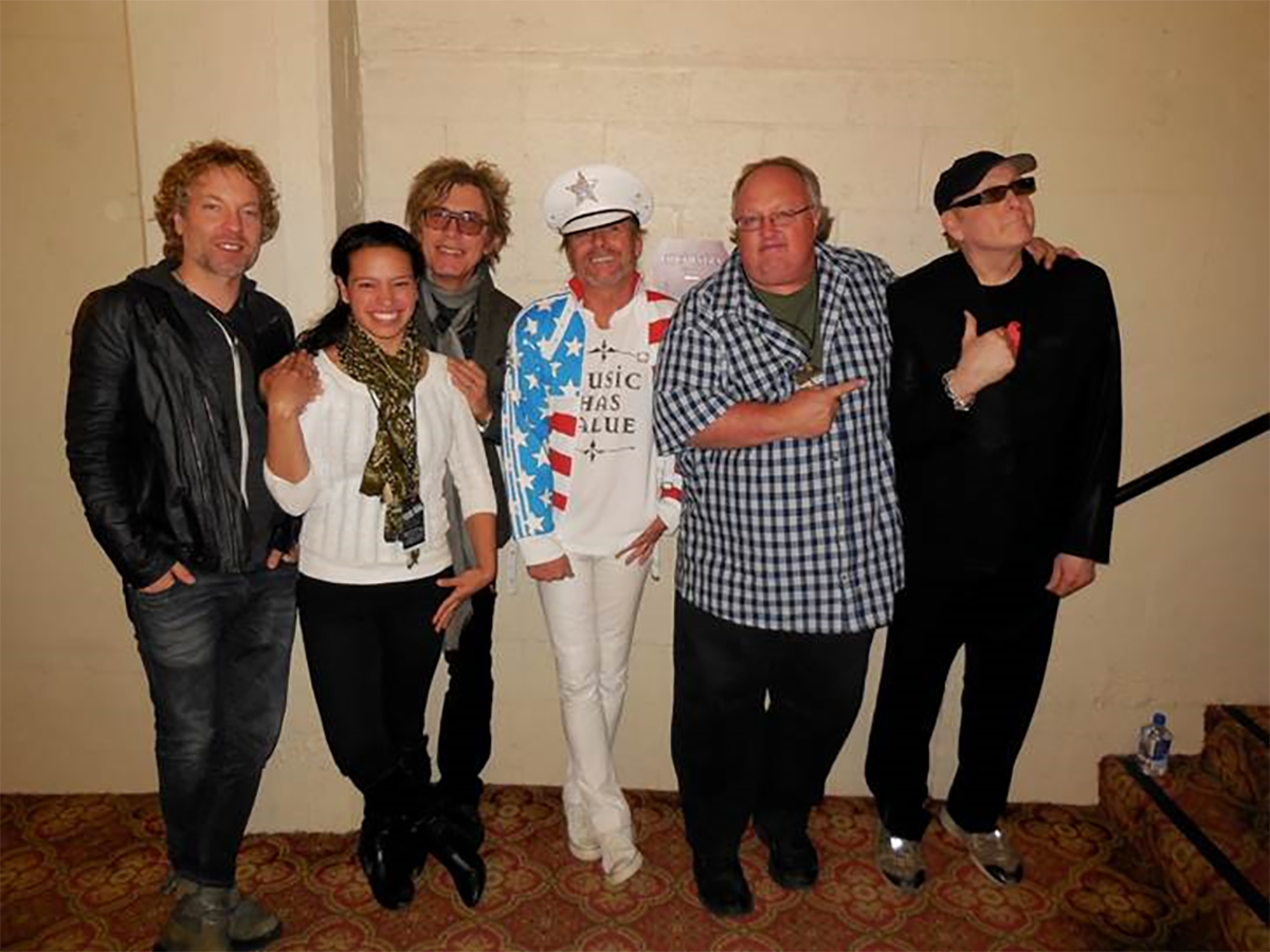 Cheap Trick and Stephen Duncan