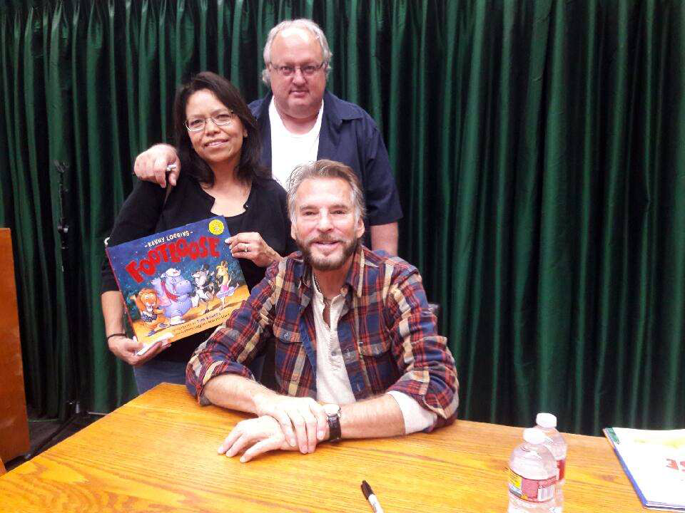 Stephen Duncan, wife Maria and Kenny Loggins
