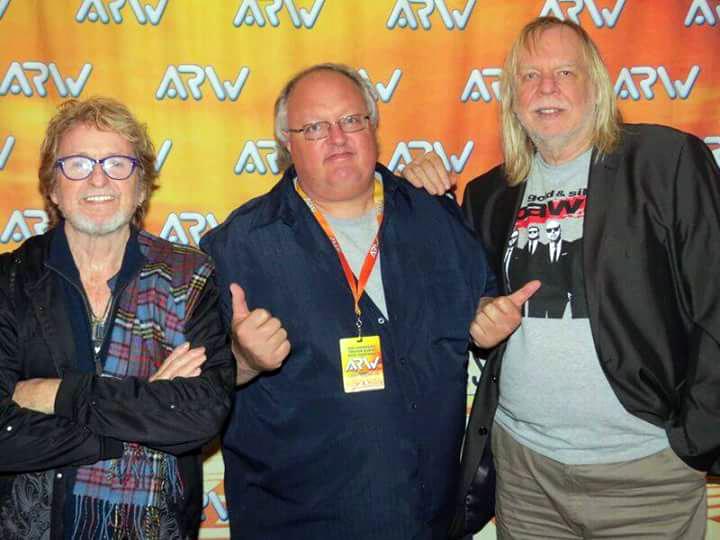 Stephen Duncan, Jon Anderson and Rick Wakemen