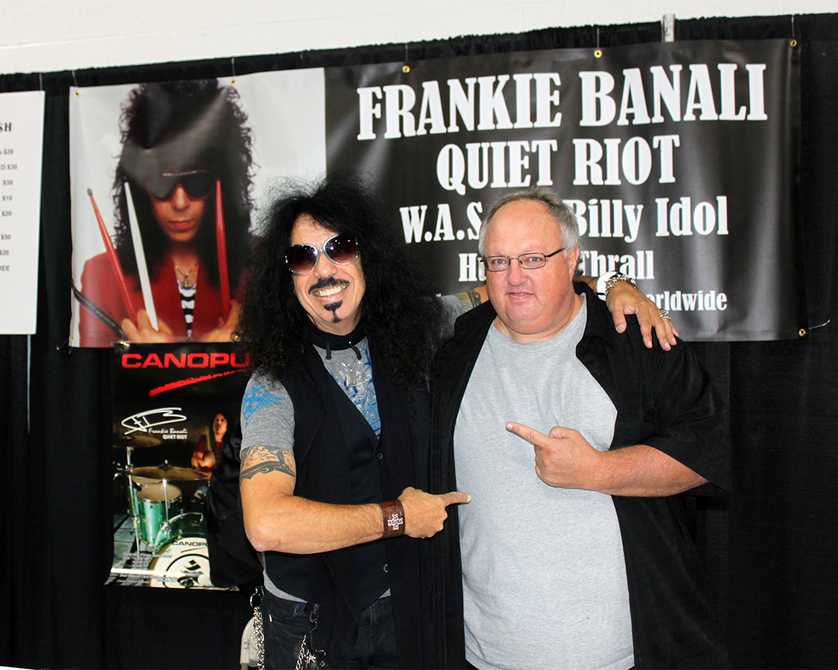 Photo - Frankie Banali and Stephen Duncan