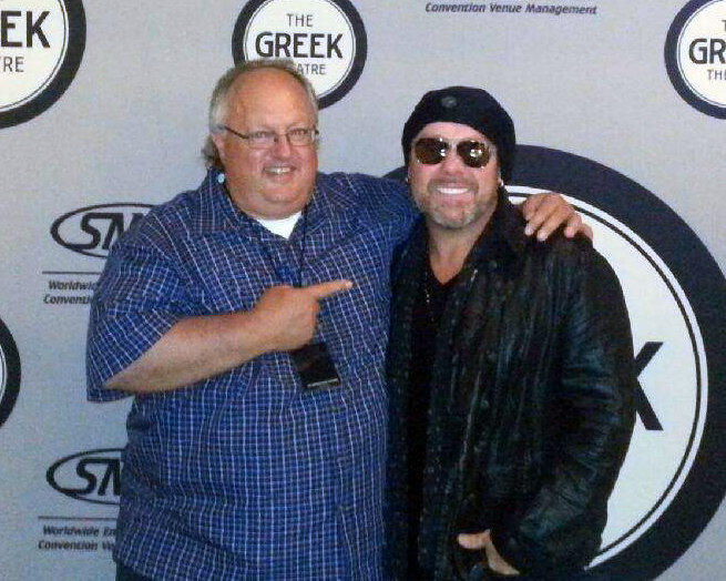 Photo-Stephen Duncan and Jason Bonham