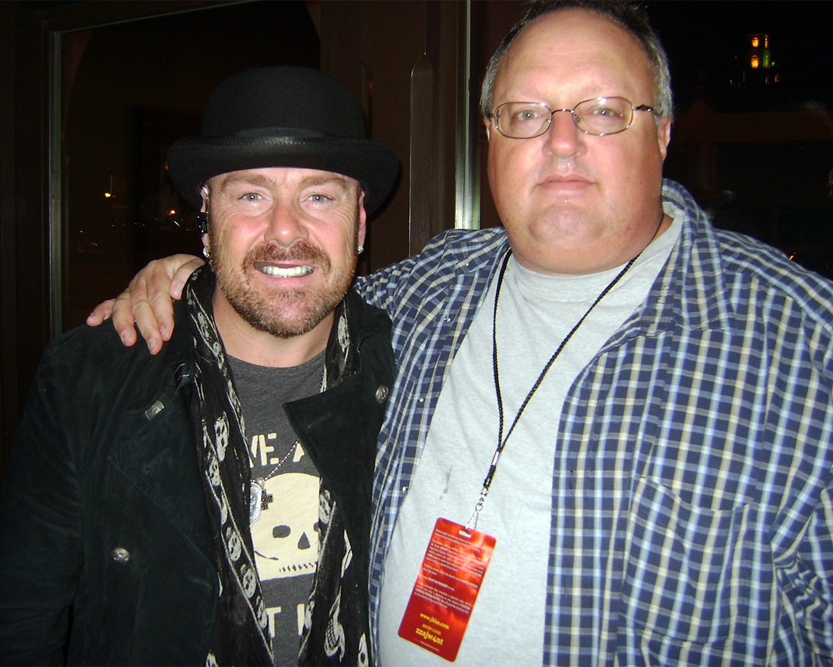 Photo - Jason Bonham and Stephen Duncan