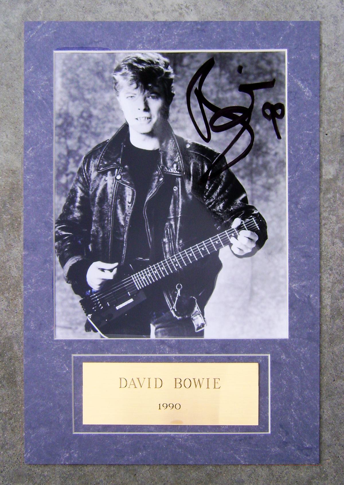 Photo - Framed - David Bowie