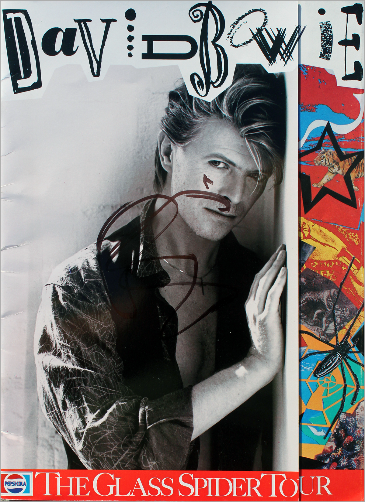 Tourbook - David Bowie - Glass Spider Tour