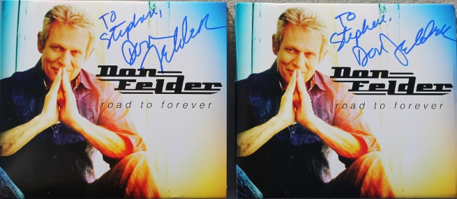 Don Felder CD covers - Road to Forever #1 & #2