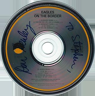 Don Henley CD - On The Border