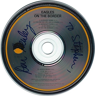 Don Henley CD - On The Border
