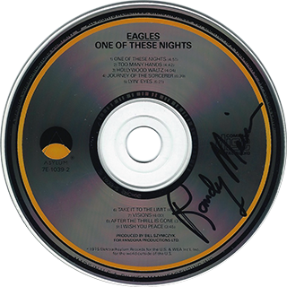 Randy Meisner CD - One of These Nights #1