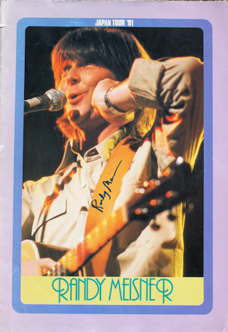 Randy Meisner - Tour Book #1