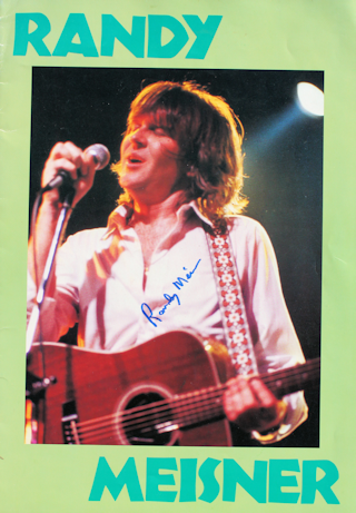Randy Meisner - Tour Book #2