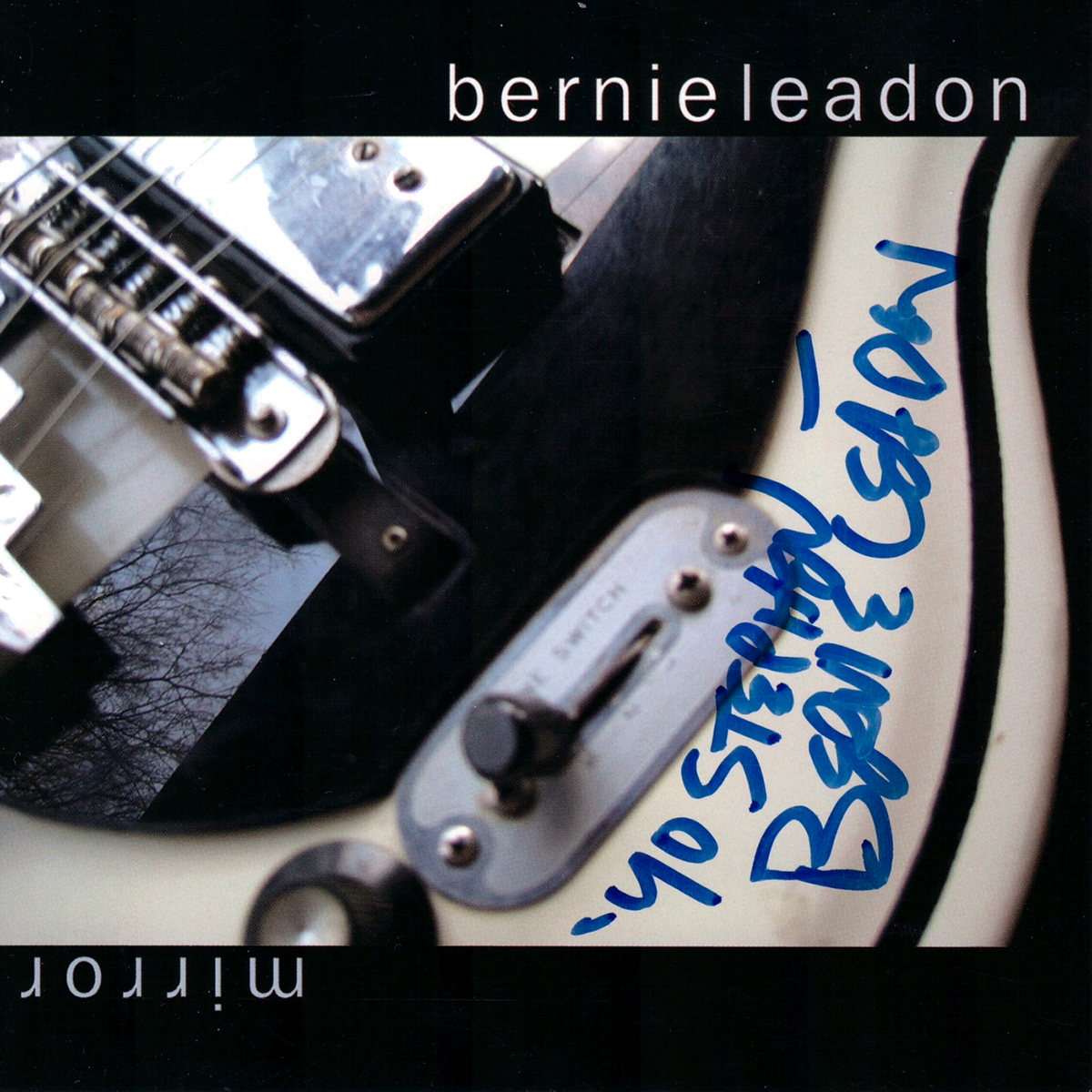 Bernie Leadon CD Cover - Mirror