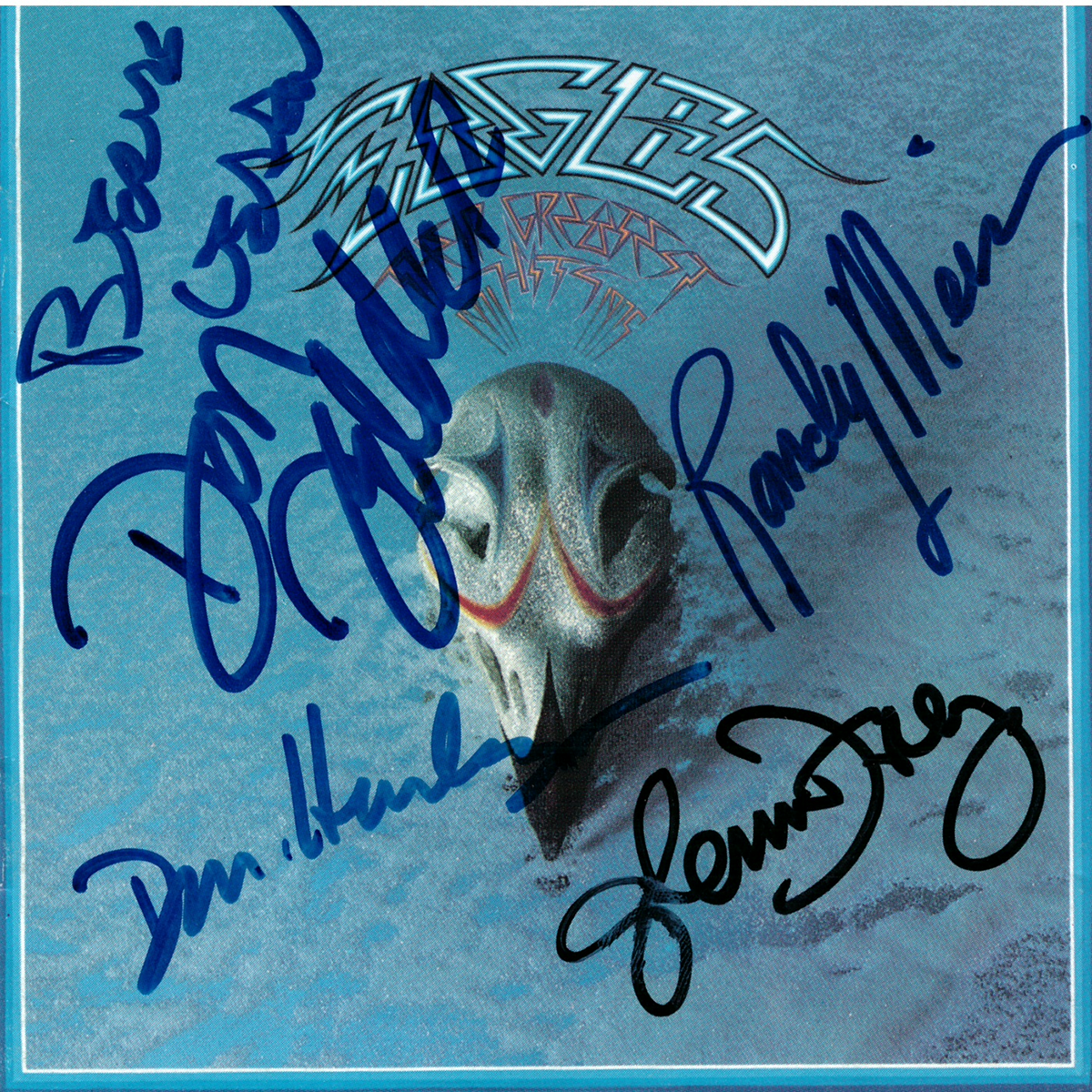 Eagles CD Cover - Their Greatest #1