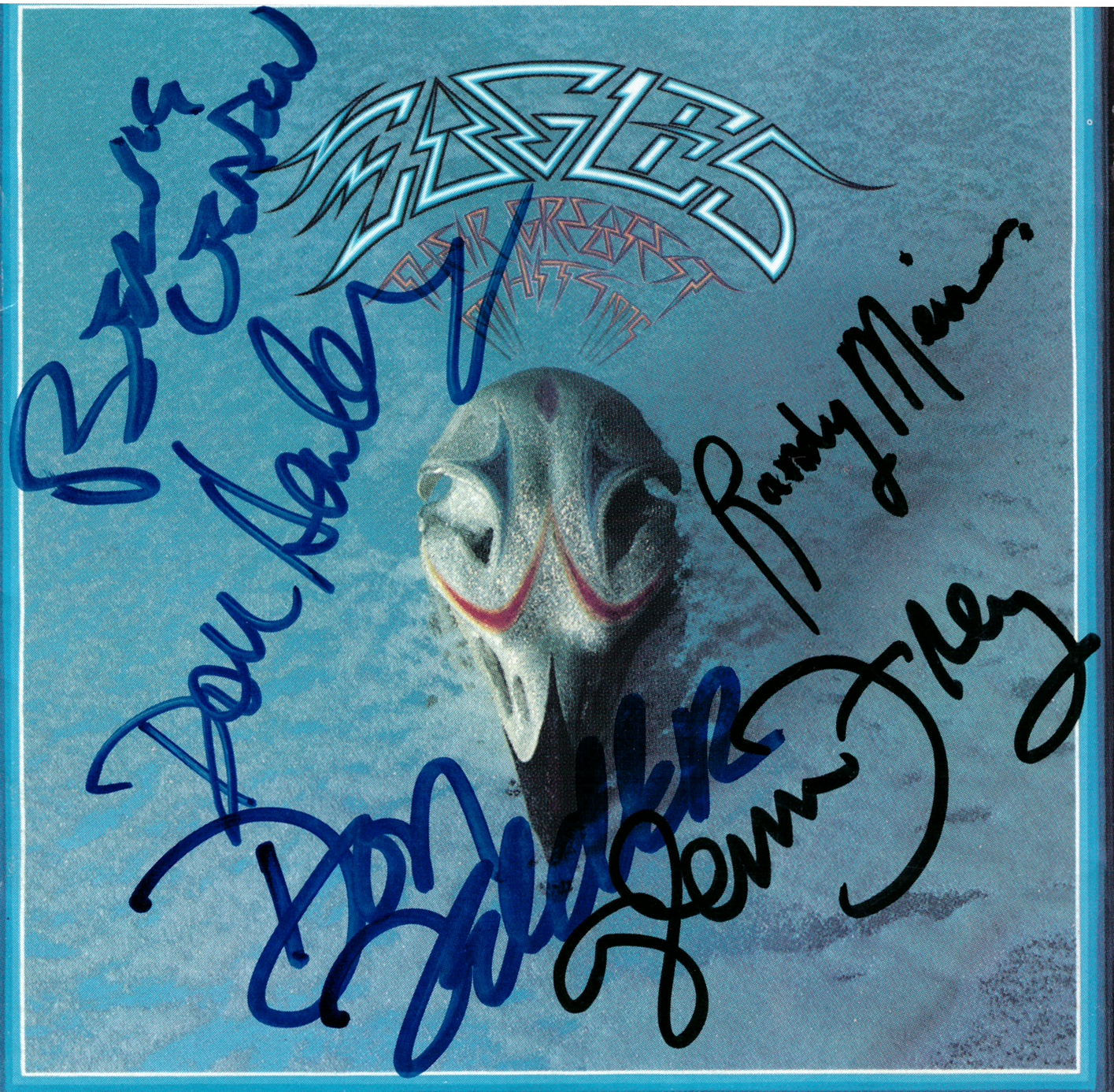 Eagles CD Cover - Their Greatest #2