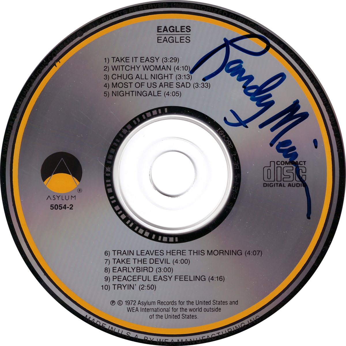 Randy Meisner CD - Eagles