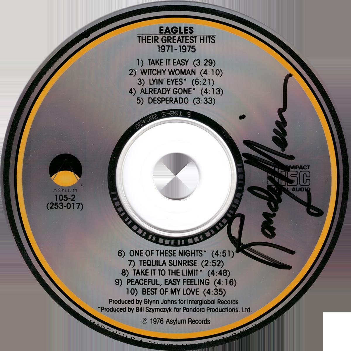 Randy Meisner CD - Eagles: Their Greateset Hits 1971-1975