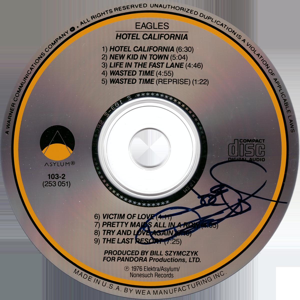 Joe Walsh CD - Hotel California