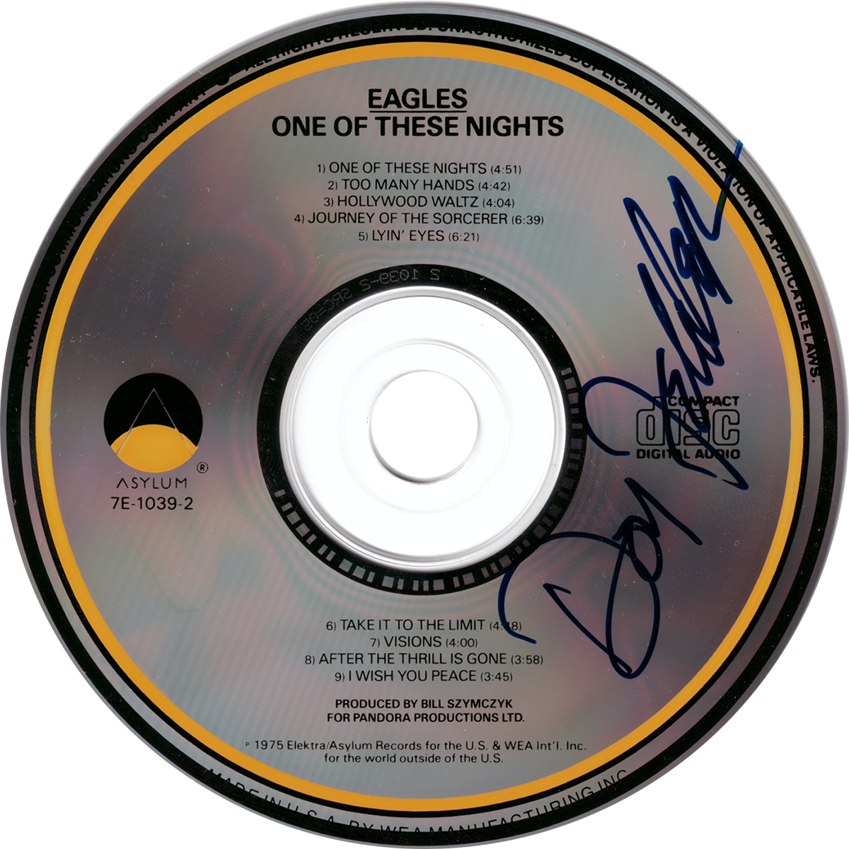 Don Felder CD - One of These Nights